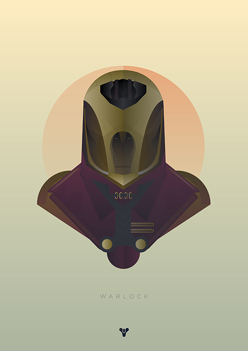 pixalry:  Destiny Class Posters - Created by Matt Needle Available as prints at Matt's Shop.