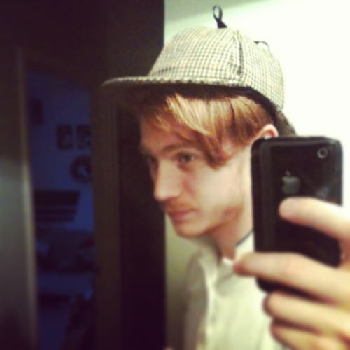 I wear a deerstalker now, deerstalkers are cool…