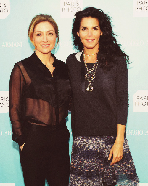 fuckyeahrizzoli-isles:  Angie Harmon and Sasha Alexander attend the Giorgio Armani Paris Photo LA event on April 25, 2013 [x]