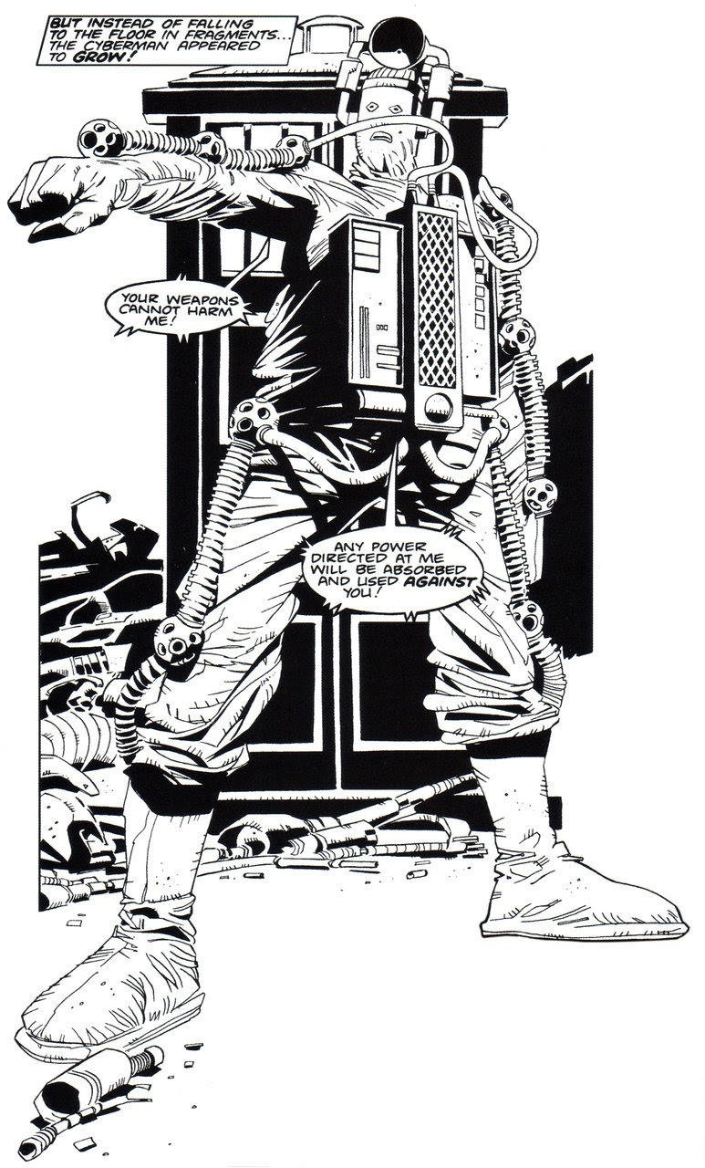 Cyberman Mike McMahon