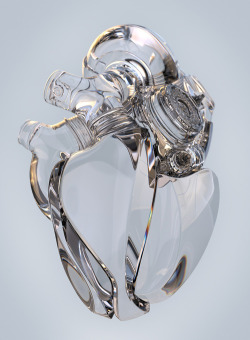 conflictingheart:  Heart by Aleksandr Kuskov.  The heart is special. In a lifetime, our hearts will beat over 2 billion times. It is a pump, a hard working machine, that drives us through the day and night, through the good and bad. It is the first organ to fully function when we are conceived; it is one of the last organs to fail. And of course, it is the only organ that falls in love.