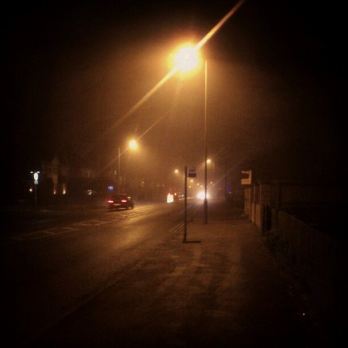occultobscura:  #silenthill. #fog night