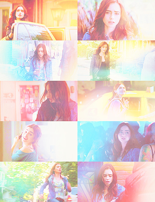 screencap meme | clary fray + colours abound   asked by wanderingwandas