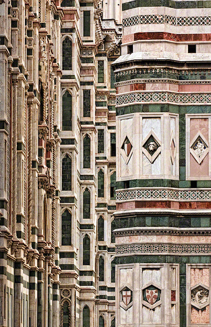 zarzor:  The Surface Design of the Basilica di Santa Maria del Fiore, Florence, Italy by William Yu Photography on Flickr.