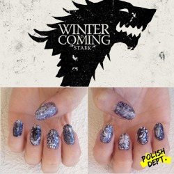 Game of Thrones - Inspired nails Ready for tomorrow!!