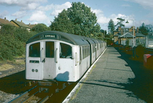 LT Central Line - Ongar in 1977 by Tom Burnham on Flickr.