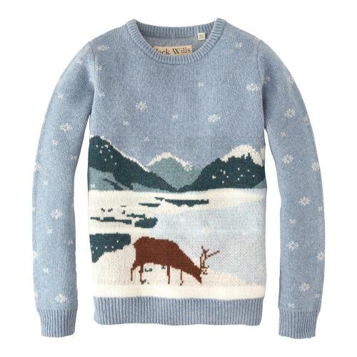 My favorite ski sweater of the season, the Brookthorpe Jumper, via Jack Wills