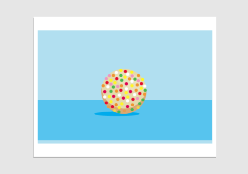 lots of donuts in the office today. instead of feeling guilty i made graphikz