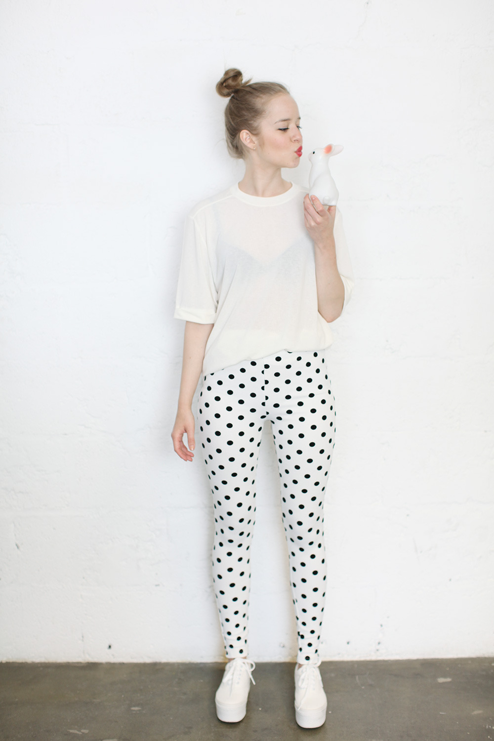 thewhitepepper:  THE WHITEPEPPER Polka Riding Trouser White as part of our new Candy Pop collection! Follow us on Facebook to keep up to date with THE WHITEPEPPER