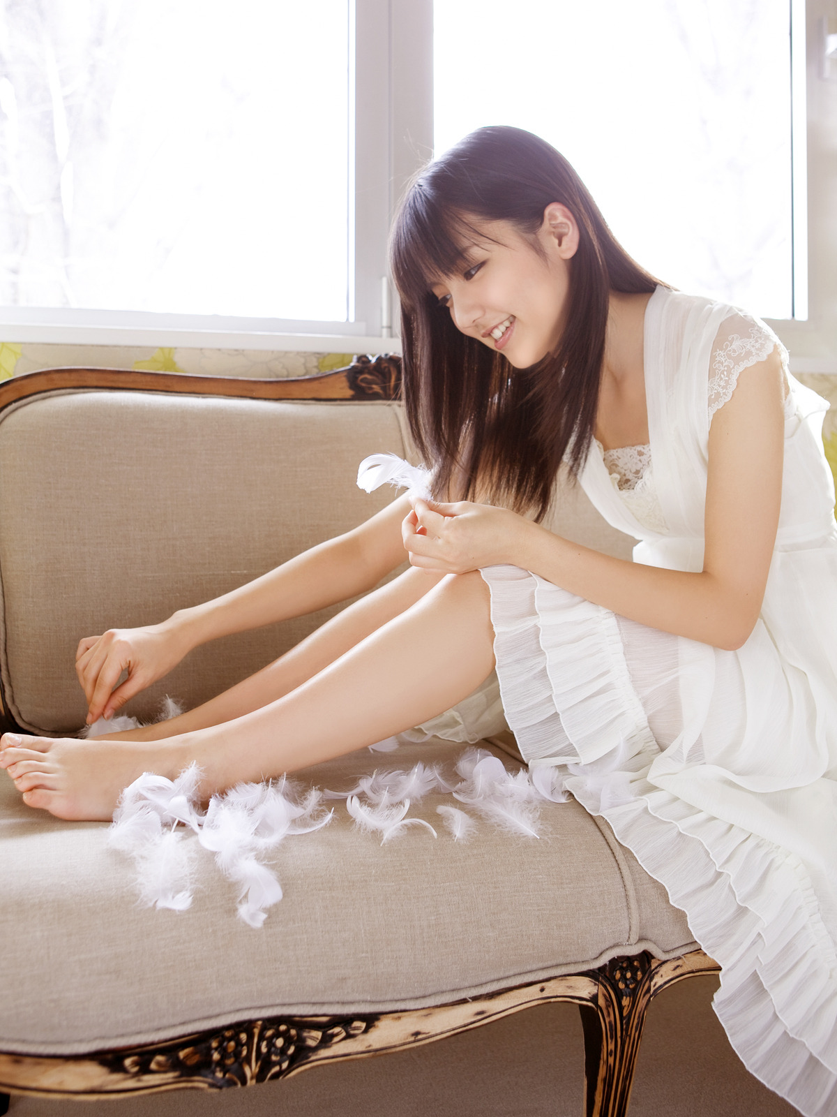 beautynbarefoot:  Erina Mano - Soft and warm, Sealed with care