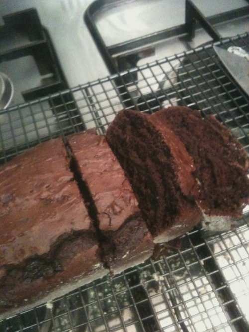 Chocolate ice cream bread, big yes!