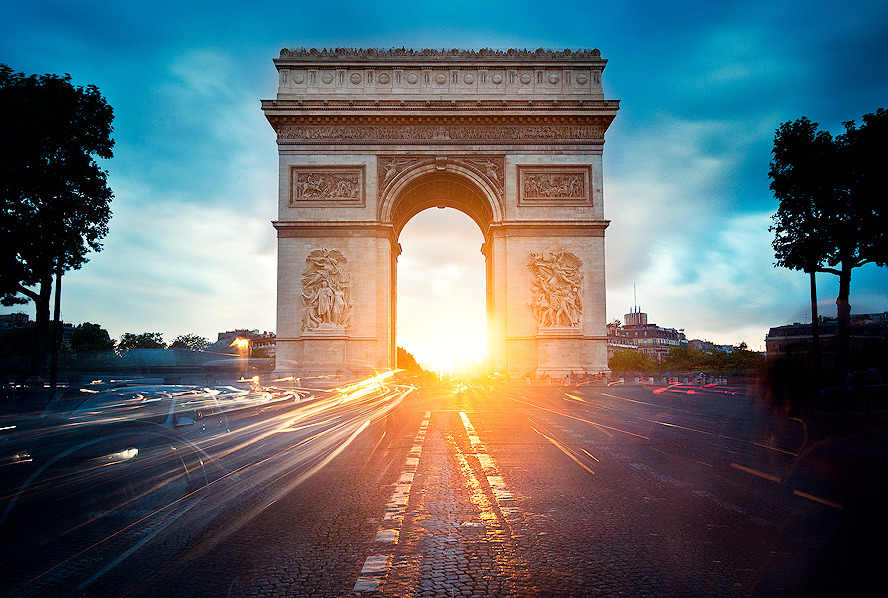 Arc de Triomphe - France (© Kajo Photography)
