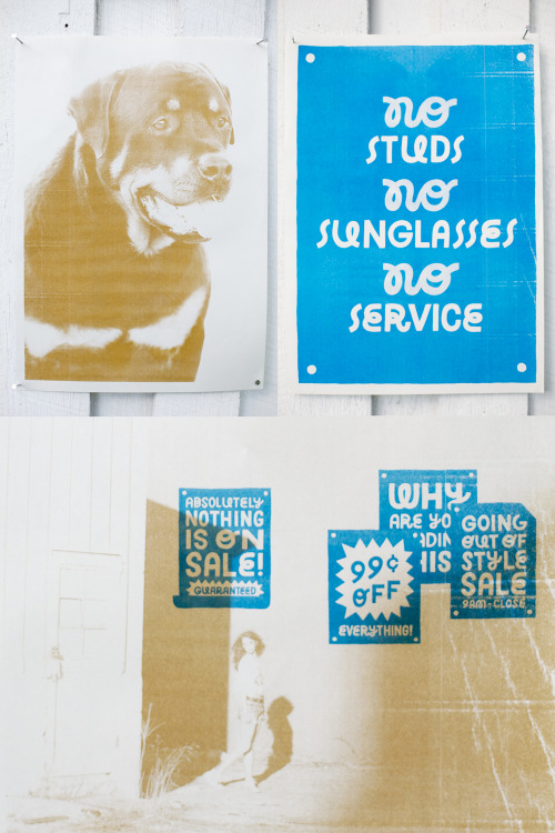 Collaborative risograph prints with TDK. Printed @ Workhorse Press, UK