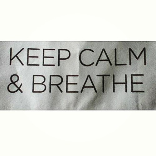 #keepcalm&breathe #vueling