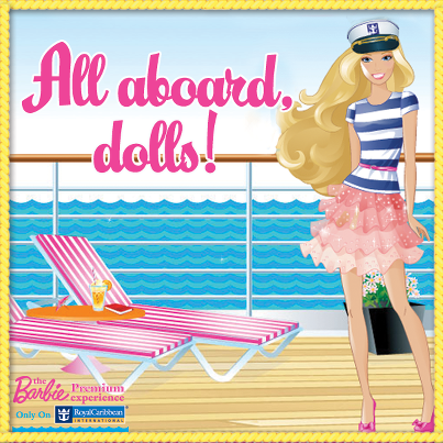 Join moi and my a-doll-able sisters on an a-mazing Royal Caribbean Cruise! All aboard, dolls! http://dolltasti.cc/ZJj1Fp