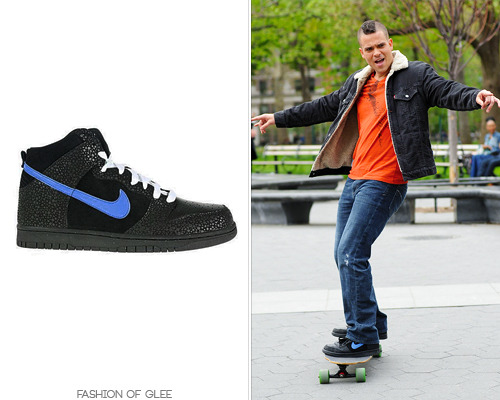 Thanks sirseeleybooth! Nike Dunk Hi Sneakers in Black / Varsity Royal / White - No longer available Worn with: Levi's jacket