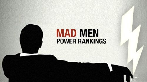 There's some pretty heavy margarine stuff in this one. Mad Men Power Rankings, Episode 607: 'Man With a Plan' -  Grantland