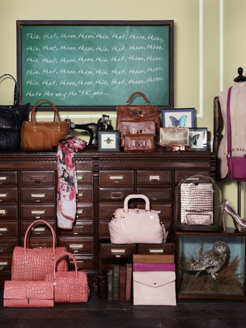 "(via The Terrier and Lobster: ""Finishing School"": Ted Baker Spring 2013 Lookbook)"