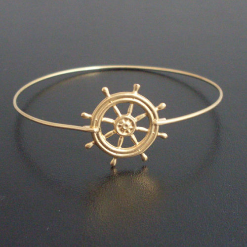 Nautical Ship Wheel Bracelet