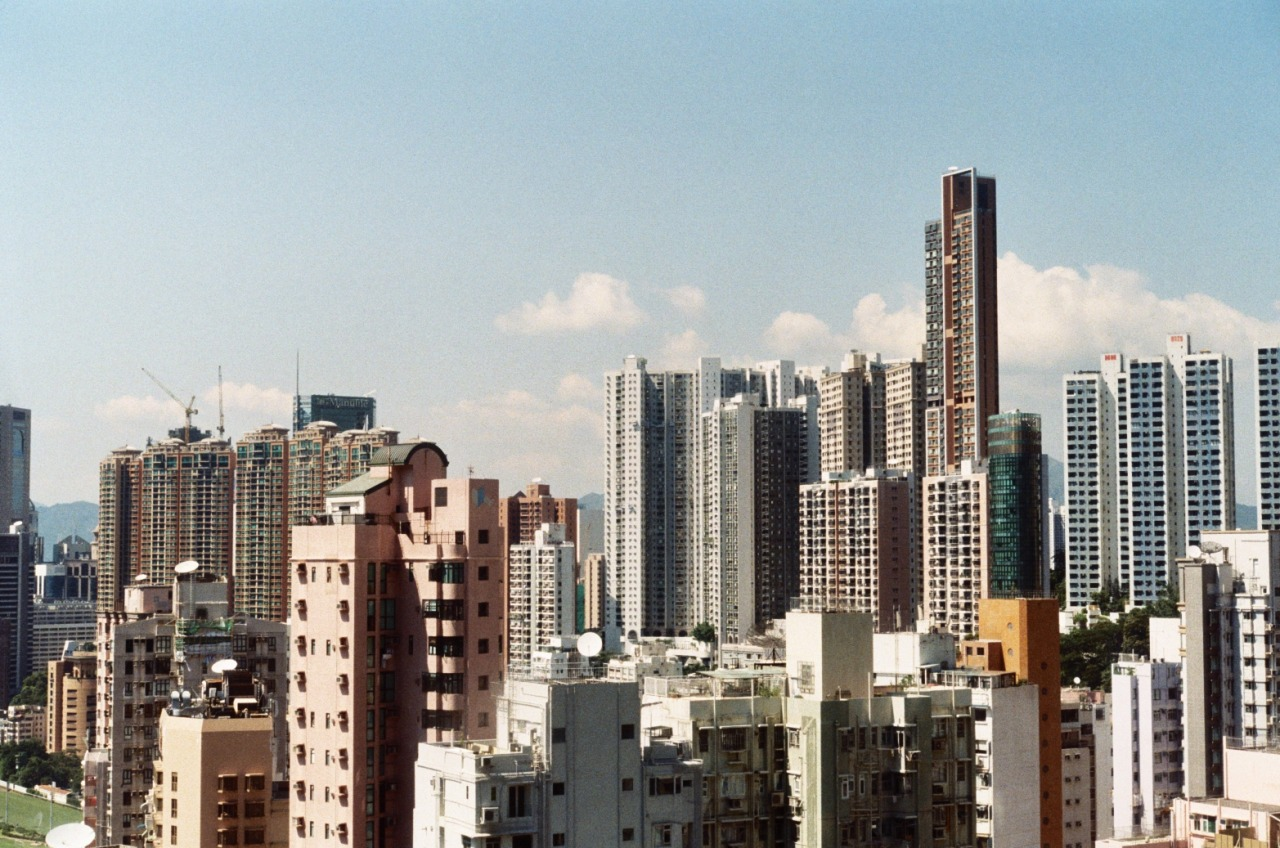Hong Kong; Nikon F3HP; Lomo 400; Aug 2011