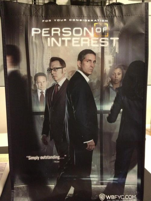 WBFYC's promo pic for Person of Interest's Season 2 for your Emmy consideration with Finch, Reese, Carter & Fusco (Last year for S1 we had no Fusco, this year for S2 we have no Bear)