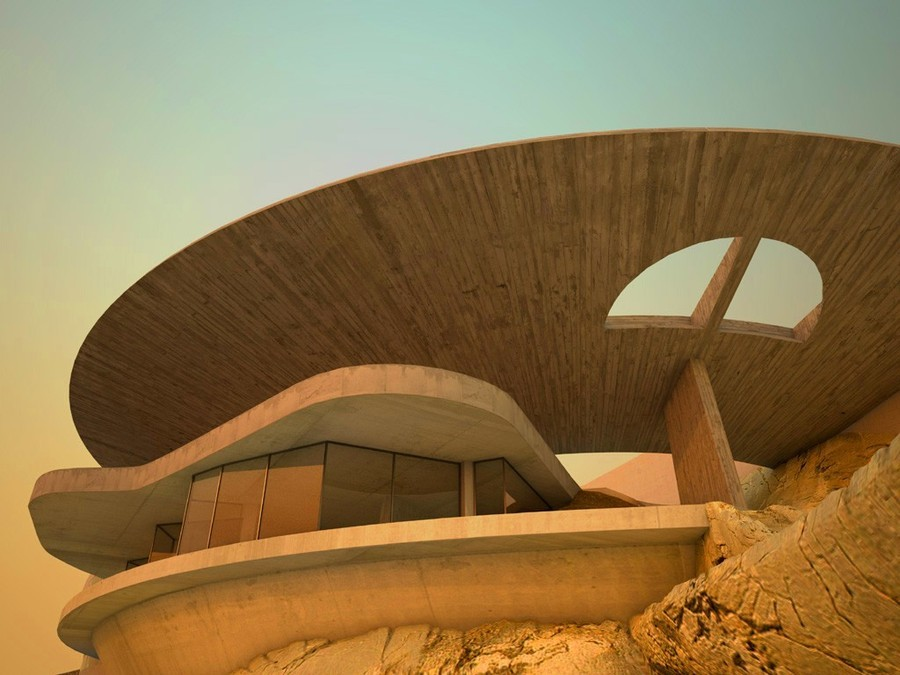 Arango House Acapulco, Mejico By John Lautner   All rights reserved by S.A.N.D Architecture Source: architectuul