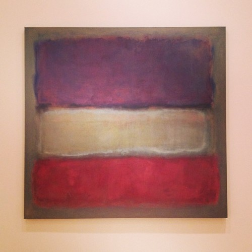 Rothko, Untitled (at The Modern Wing)