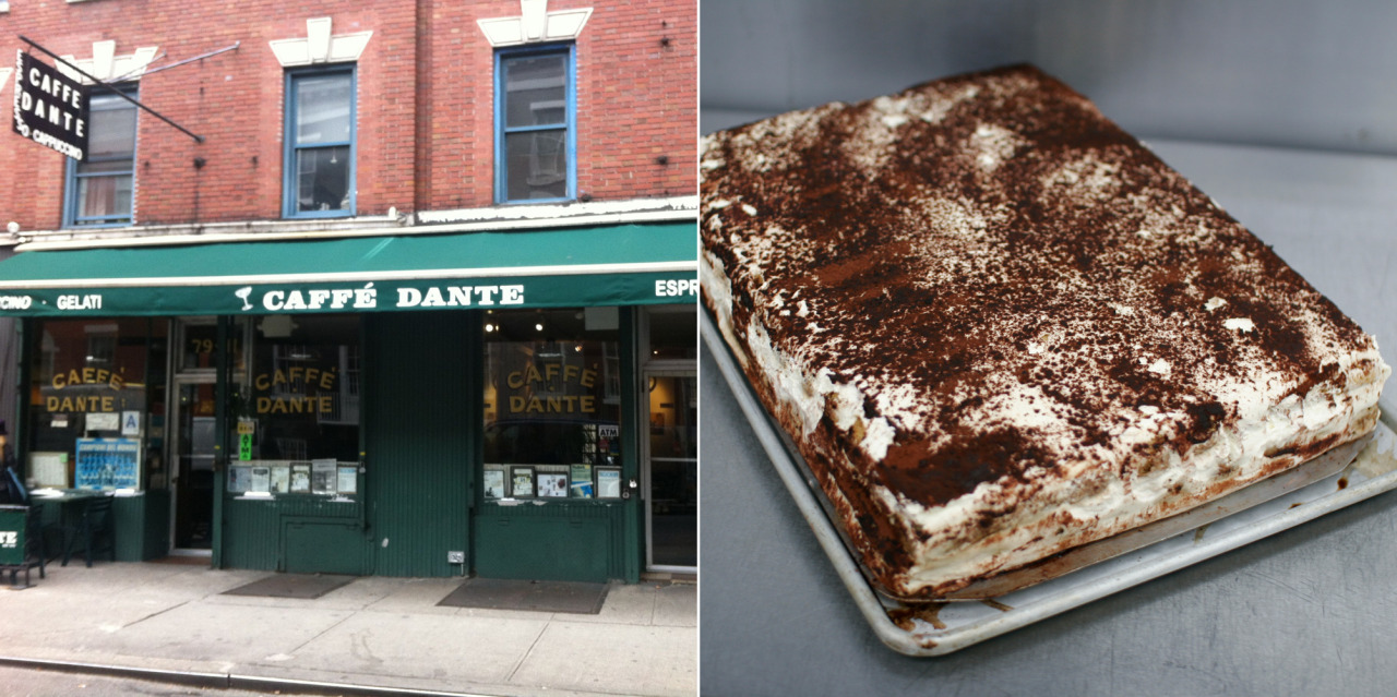The making of Tiramisu Step 2: Get Cafe Dante to make you some righteous tiramisu.