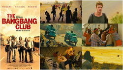 bitoffocus:  → 365 movies     The Bang Bang Club (2010) (158/365) ★★★☆☆     A drama based on the true-life experiences of four combat photographers capturing the final days of apartheid in South Africa.