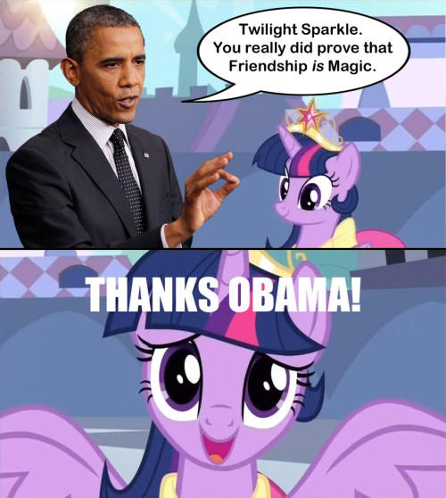 pinkiepony:  little-awesome-ponies:  Well…Someone had to do it. moar mylittlepony   I feel like I inspired this.