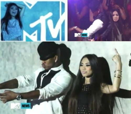 "akazukincha15:  Jessica Sanchez & NeYo's ""Tonight"" Sneak Peek MV!"