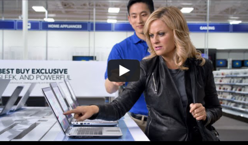 Here's the Amy Poehler commercial that made me like celebrity endorsements