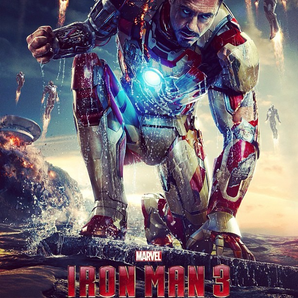 Looks like Iron Man 3 will be dope…