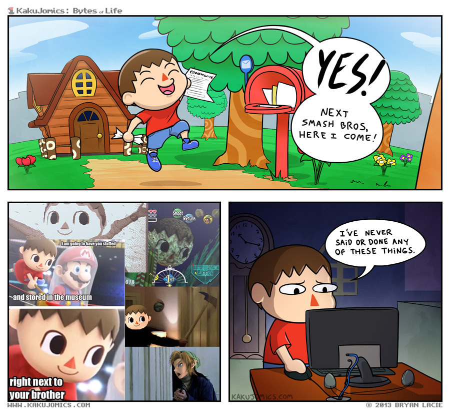 Animal Crossing Created byKakuJomics (viaDuelingAnalogs)