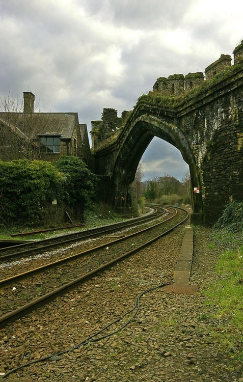 Ancient Rail Portal, Wales photo via terri
