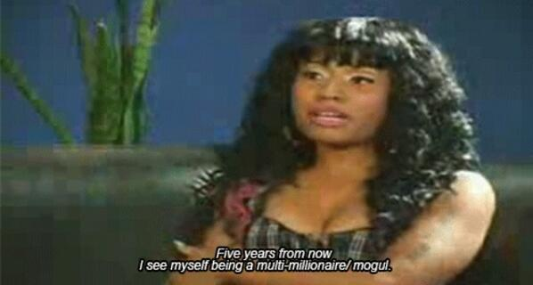 Nicki Minaj, Nicki Minaj - Remember this @NICKIMINAJ You be predictin everything you do! But be-fore