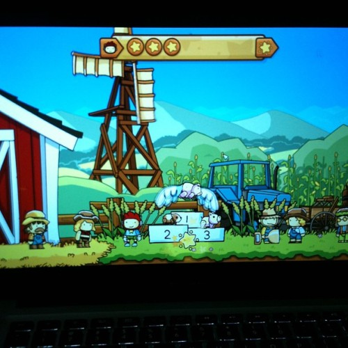 YAAAY Scribblenauts Unlimited *—-*