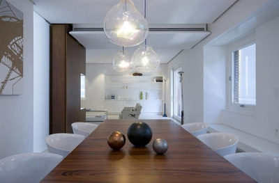 Modern apartment renovation in Rome: Casa-O