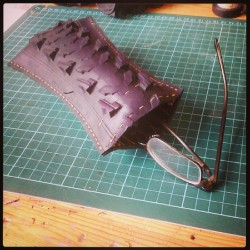 Glasses case. #manabouttown #crafts #tyre