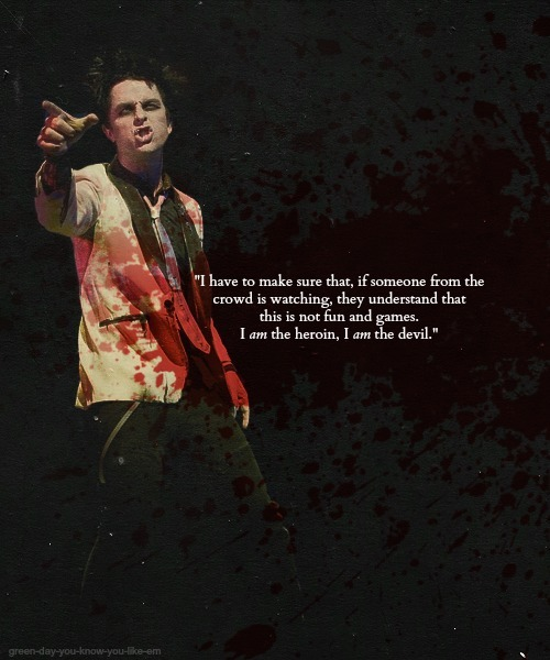 "Billie Joe Armstrong on playing St. Jimmy in ""American Idiot: The Musical"""
