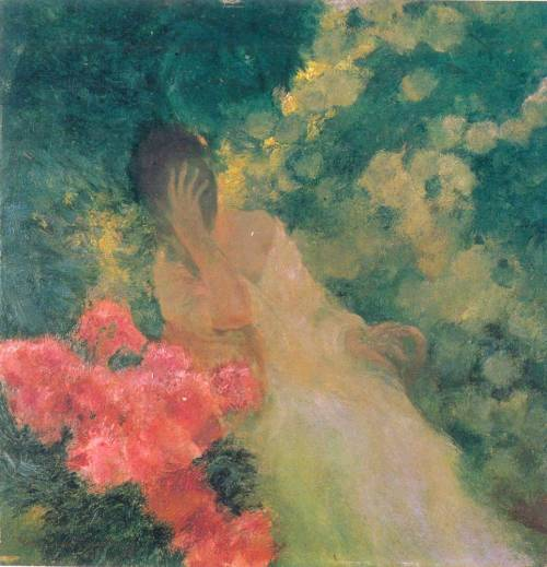 dappledwithshadow:  In the Garden - Gaston la Touche
