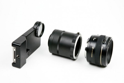 iPhone SLR Mount |  I know, old news… but I really want to play with one of these.