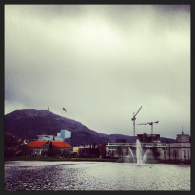 where did the sun go? #grey #city #bergen #norway