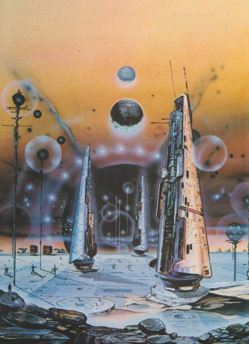 zensunnirogue:  Art by WILKINS Blair - Black Sun Towers