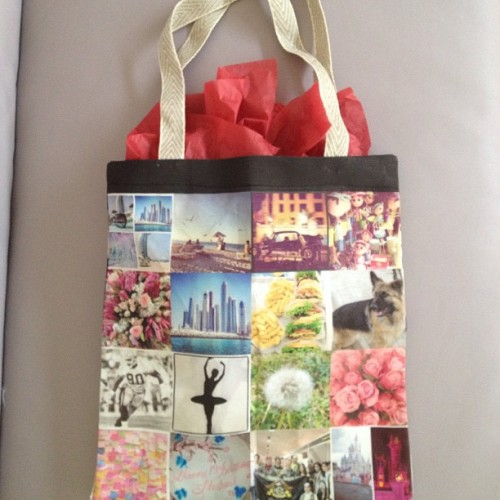 Beautiful tote bag. Thanks for sharing, @amymesho!