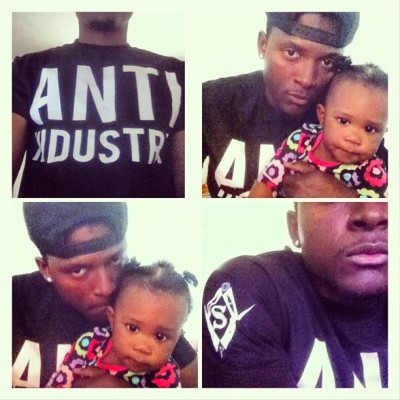 #anti #industry #blackscale #karmaloop #plndr #crewneck #mrflyerthanu wit the #haiti #princess #haitianflagday