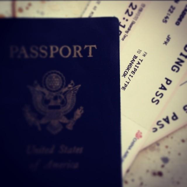 January 6th, New York City to Bangkok: A one-way ticket is an invigorating feeling…