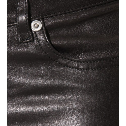 asthetiques:  SAINT LAURENT - LEATHER TROUSERS.