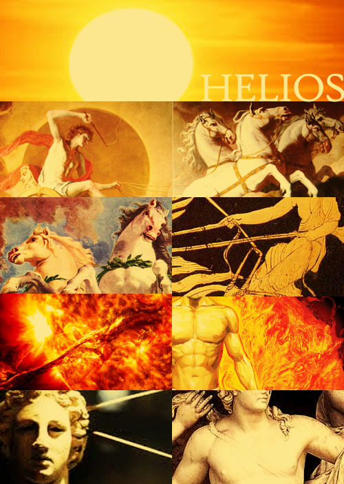 mythologyrules:  Helios, the Greek God of the Sun