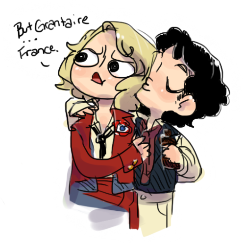 yourjazzonia:  Enjolras is torn between his two loves